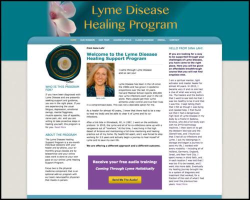 Lyme Disease Healing Program